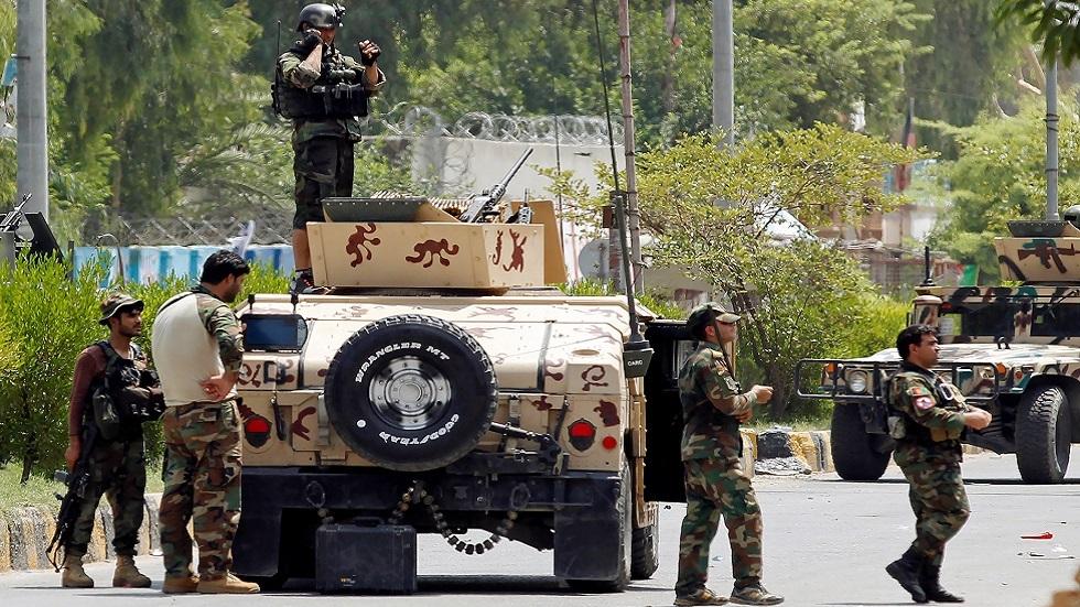 عناصر أمنية أفغانية (صورة أرشيفية)