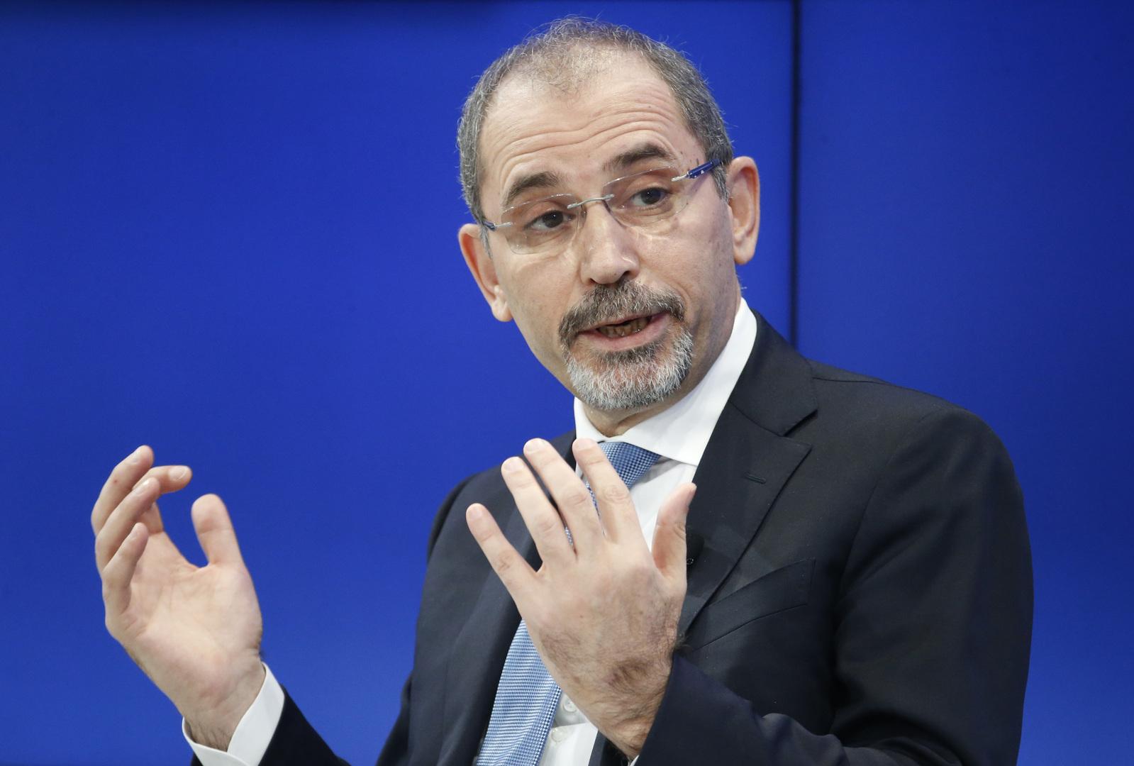 وزير الخارجية الأردني، أيمن الصفدي