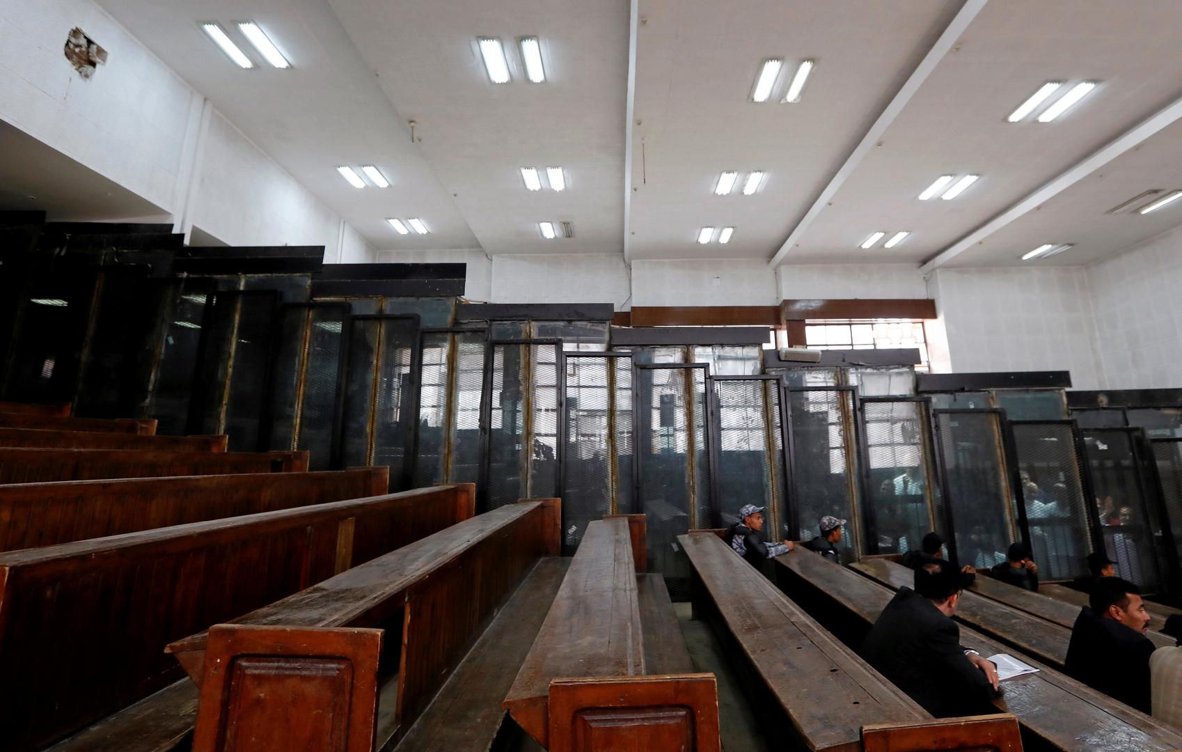 قاعة محكمة في مصر