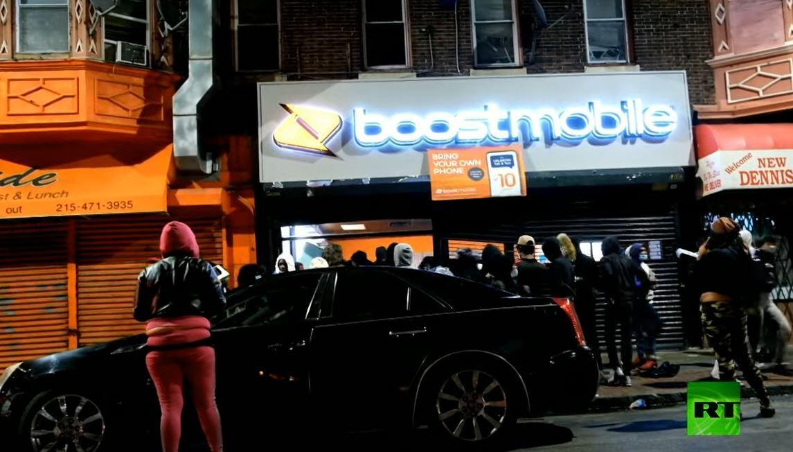 أعمال شغب ونهب في فيلادلفيا إثر مقتل شاب من أصل إفريقي برصاص الشرطة