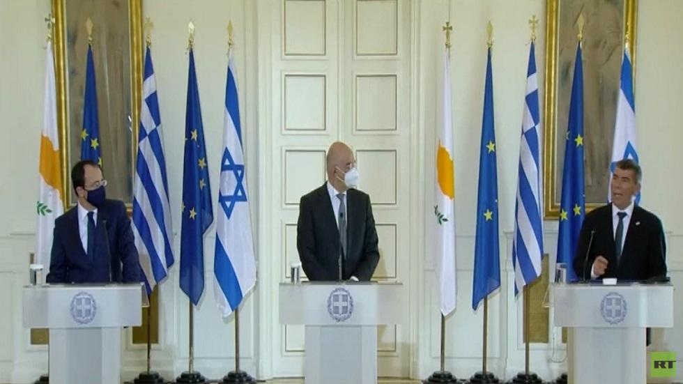اليونان وقبرص وإسرائيل..اتفاق لتعزيز الشراكة