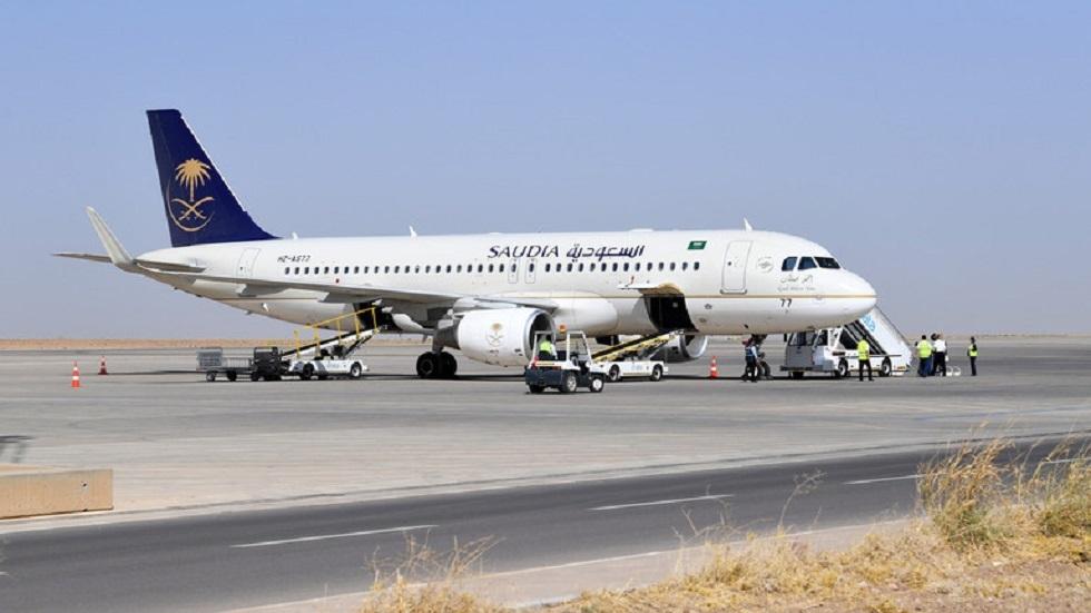 طائرة تابعة للخطوط الجوية السعودية - أرشيف