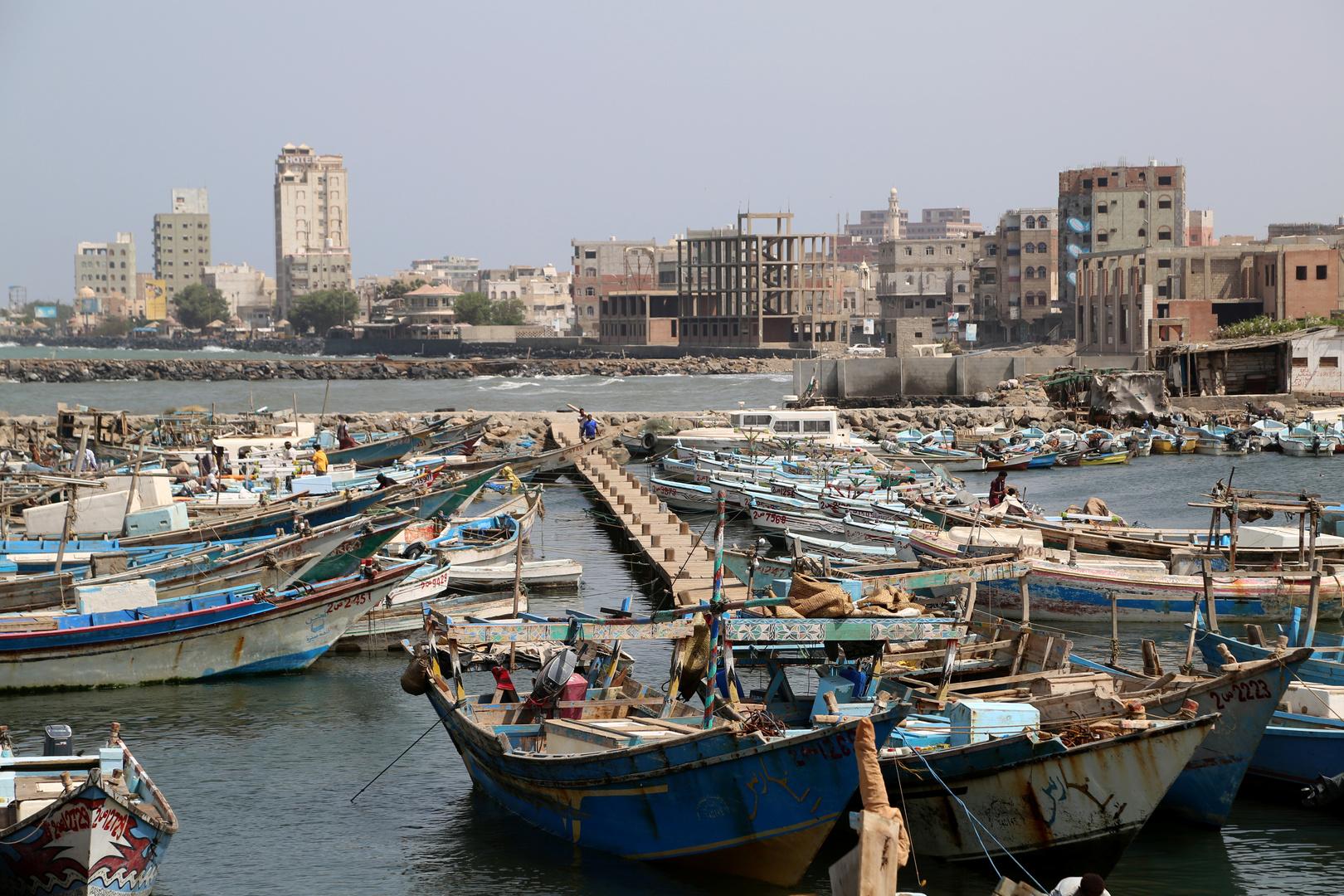 ميناء الحديدة في اليمن (صورة من الأرشيف)