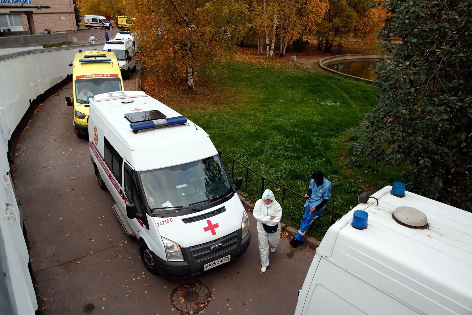 روسيا تسجل 16 ألف إصابة بكورونا خلال 24 ساعة وقفزة قياسية جديدة في الوفيات