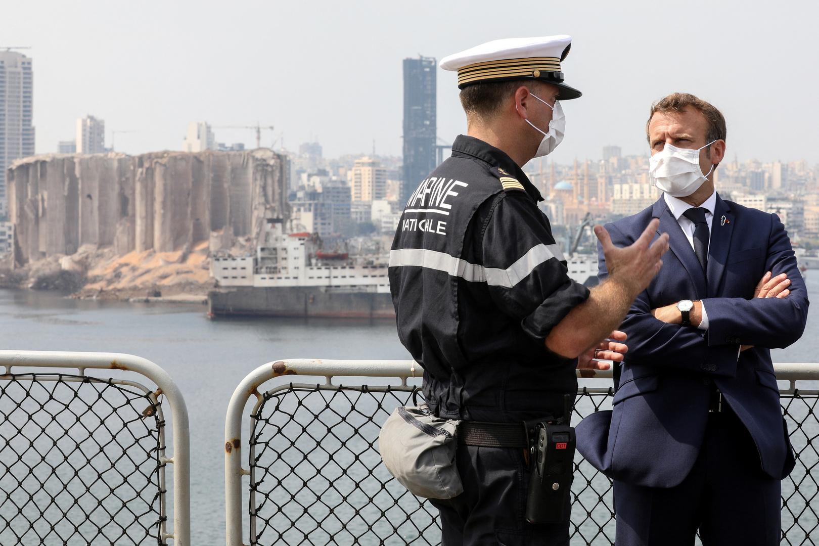 أردوغان: ماكرون طُرد من لبنان