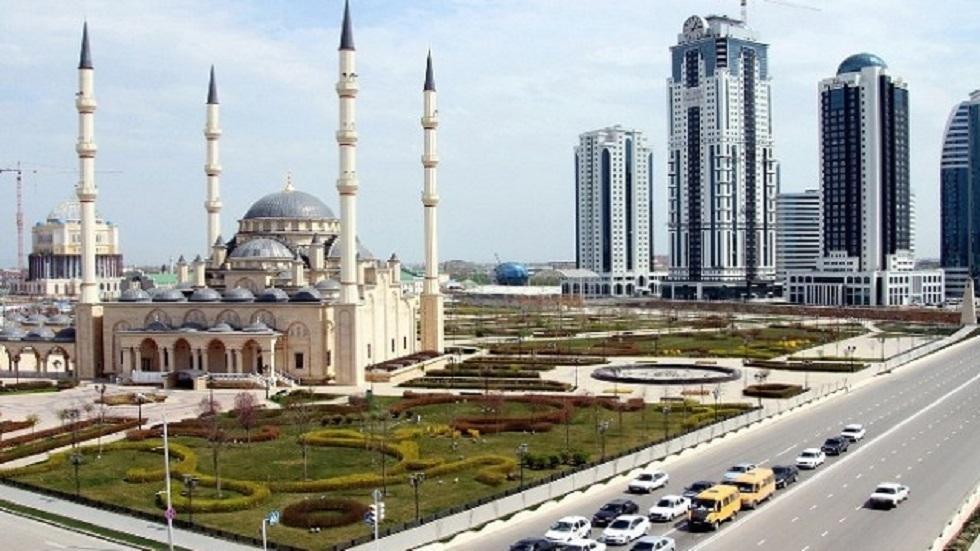 العاصمة الشيشانية غروزني - أرشيف