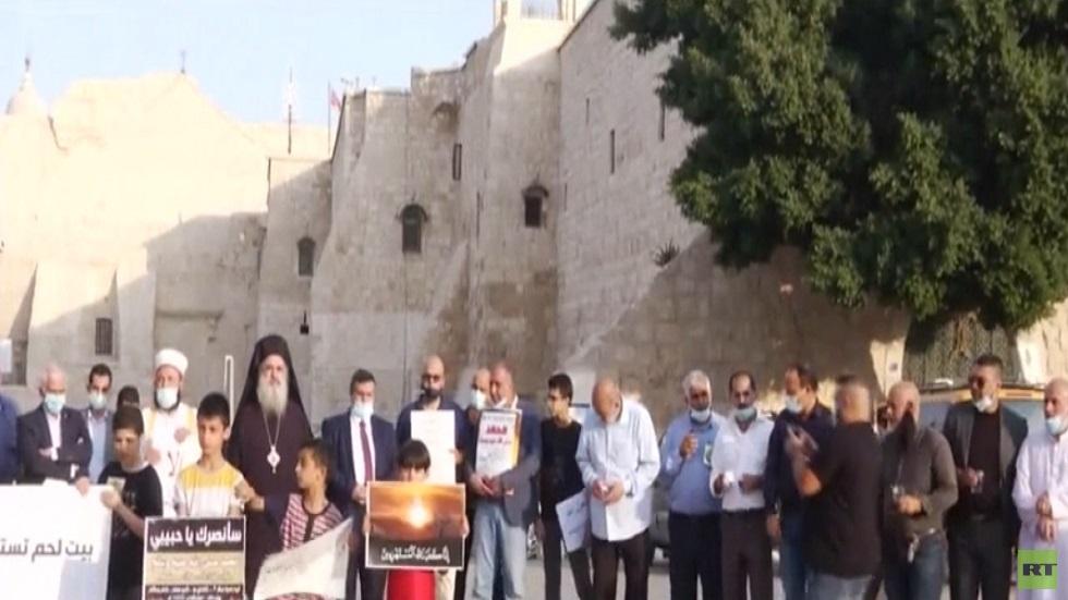 فعاليات بالضفة ضد الإساءة للإسلام