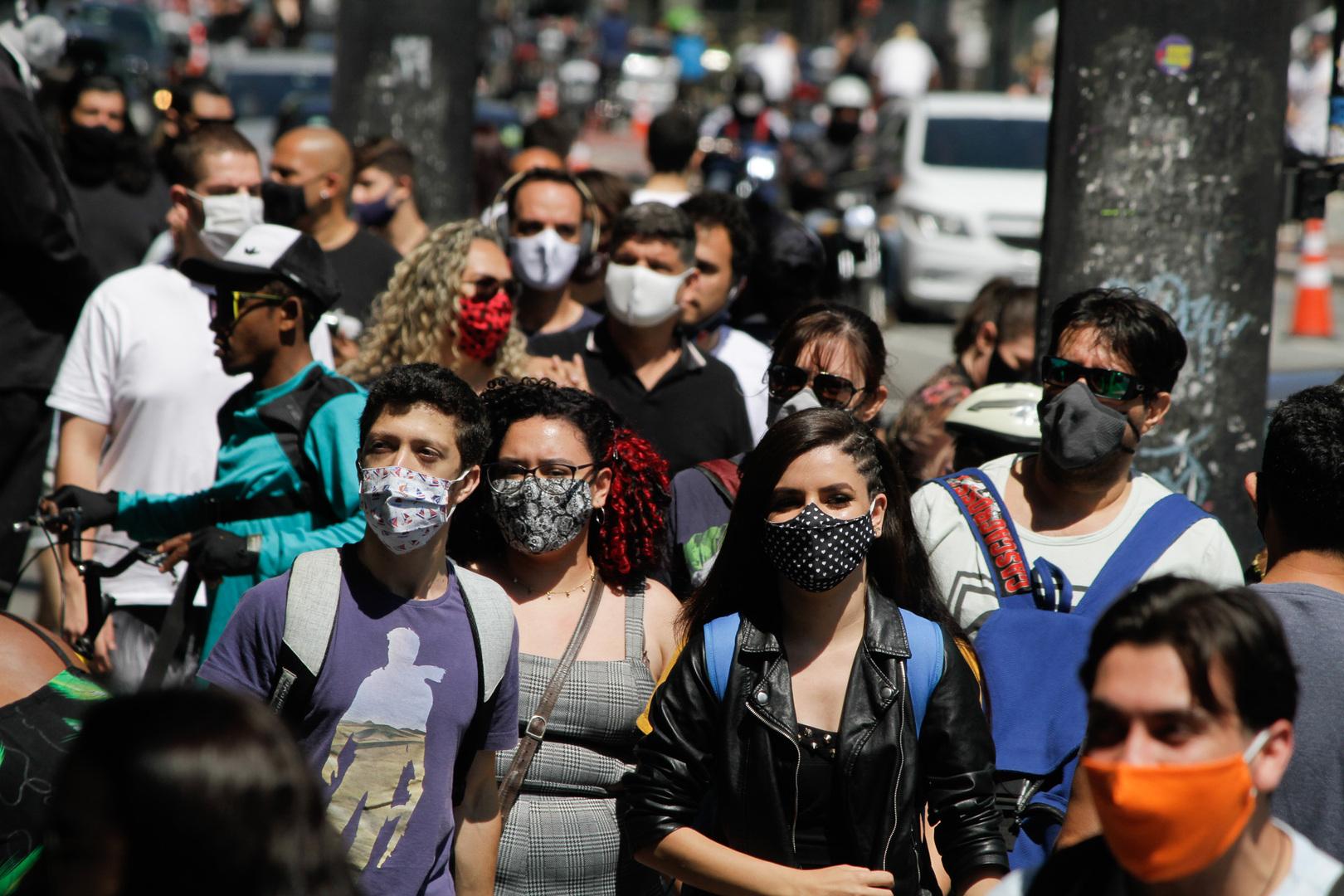 البرازيل: 510 وفيات وأكثر من 28 ألف إصابة جديدة بكورونا