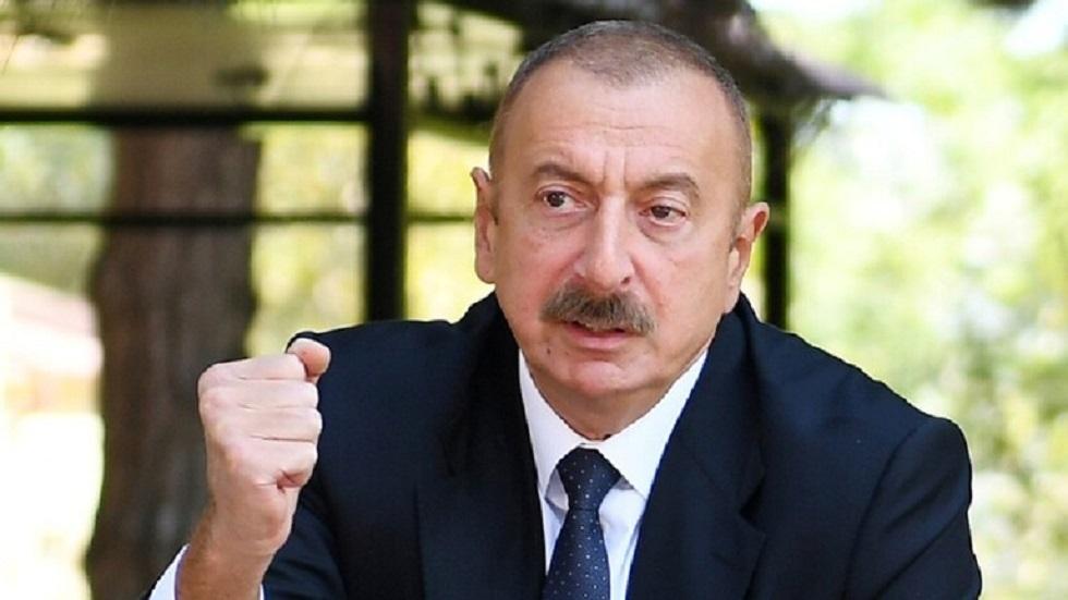الرئيس الأذربيجاني، إلهام علييف
