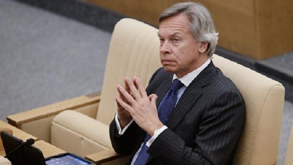 السيناتور الروسي أليكسي بوشكوف - أرشيف
