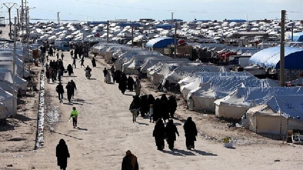 مخيم الهول في الحسكة شمالي سوريا - أرشيف