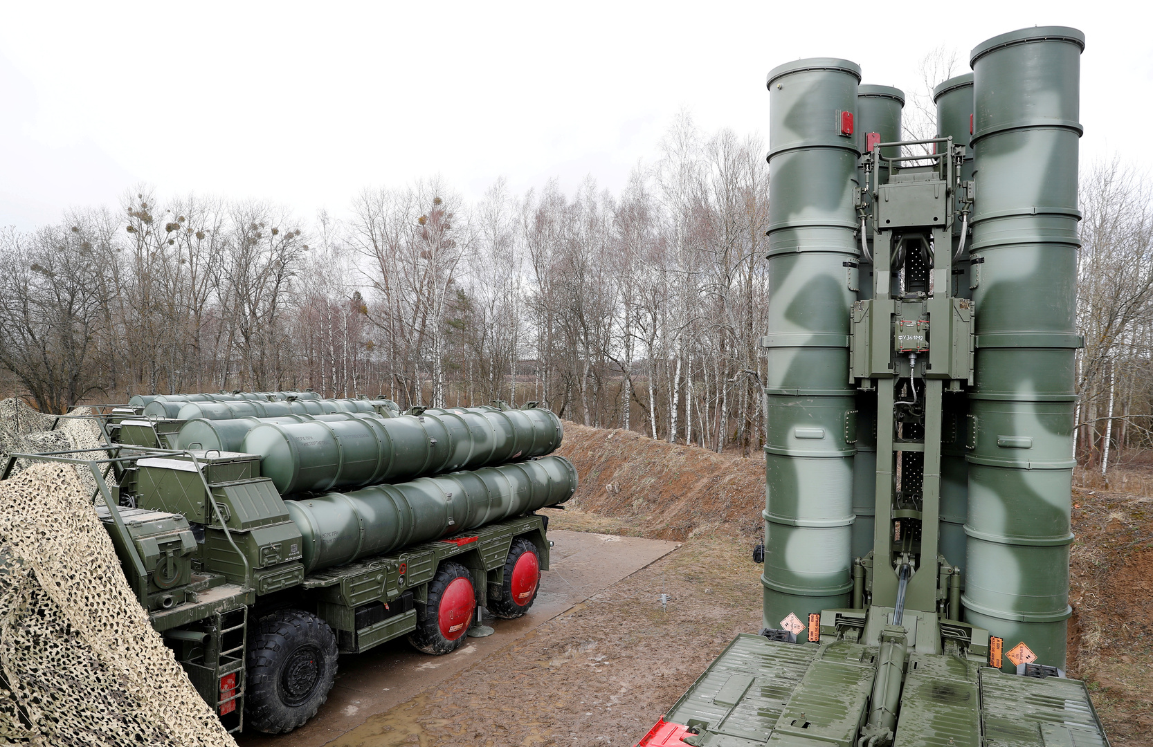 صواريخ إس 400 للدفاع الجوي