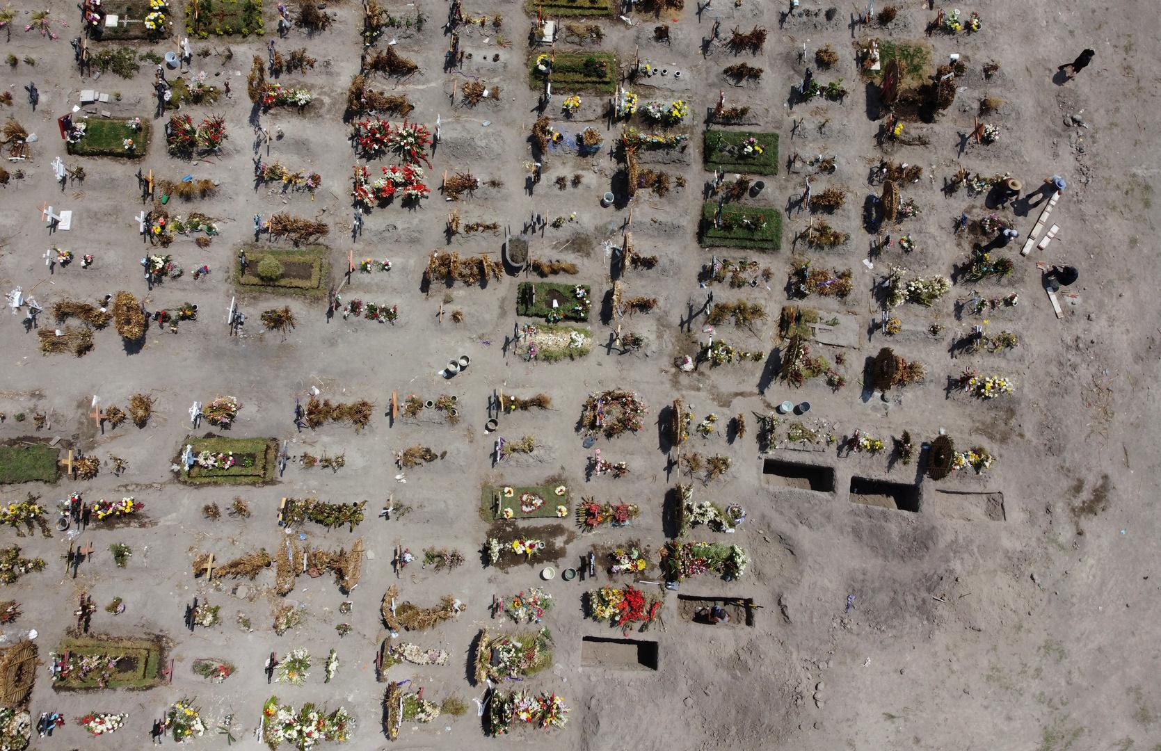 العثور على 59 جثة في مقابر سرية بولاية مكسيكية