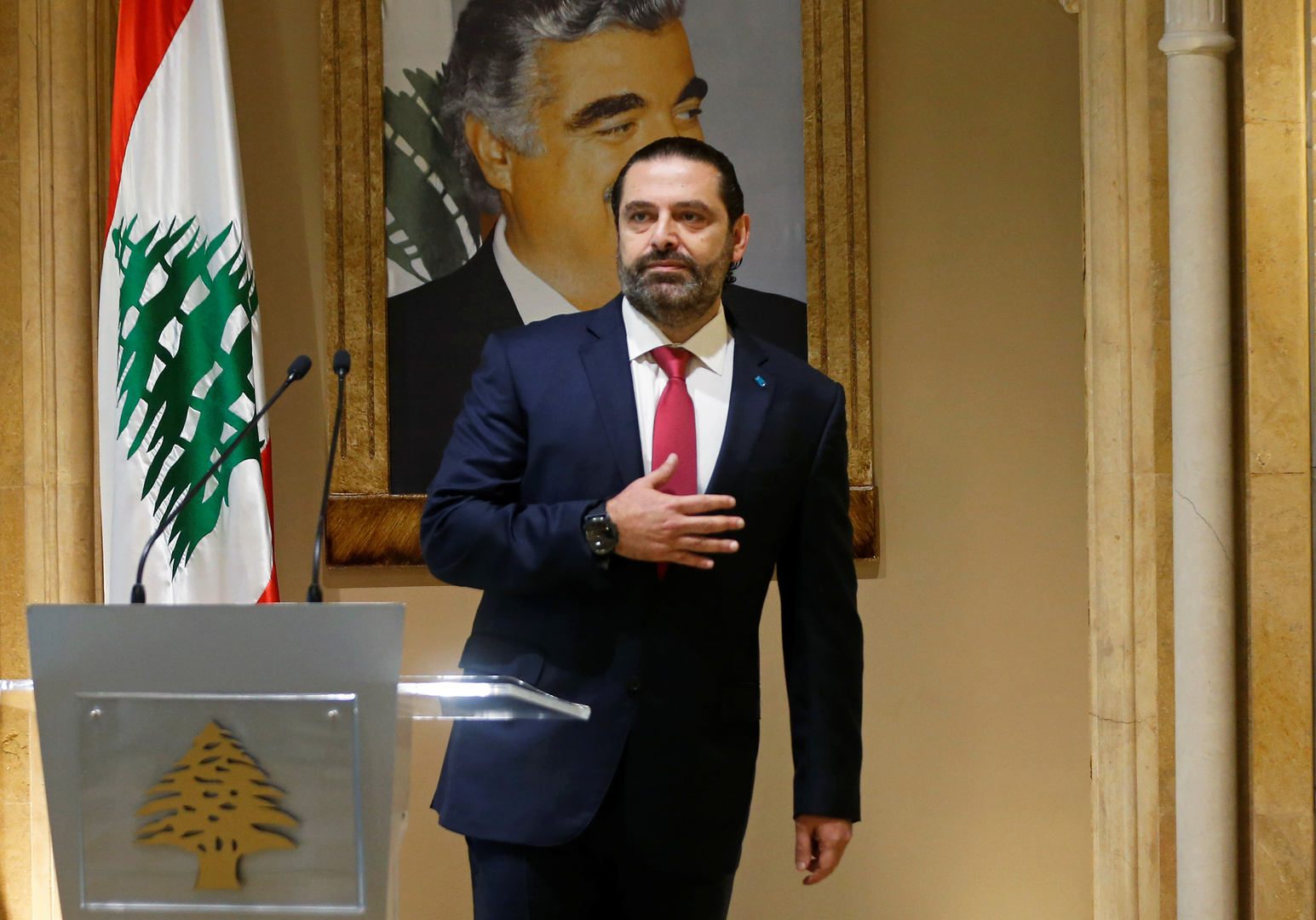الحريري: الاعتدال والوسطية يبقيان قاعدة الإسلام
