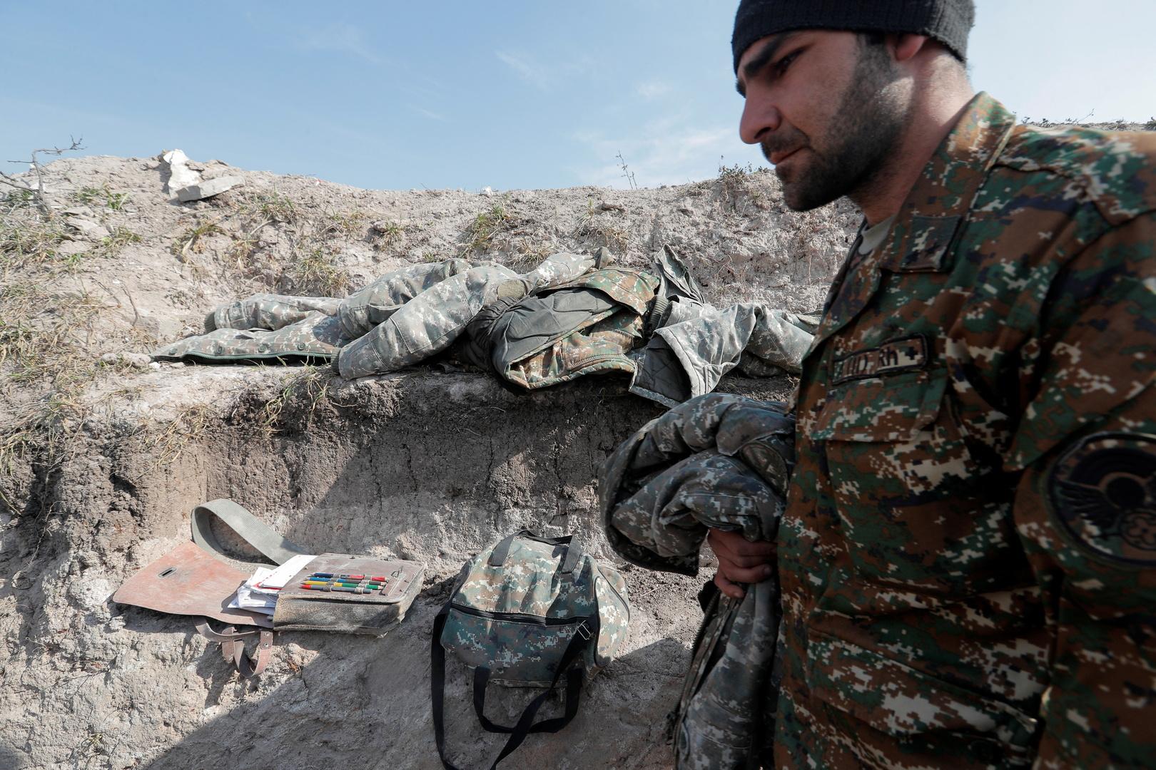 مقتل 51 عسكريا من وحدات الدفاع في قره باغ خلال اليوم الماضي