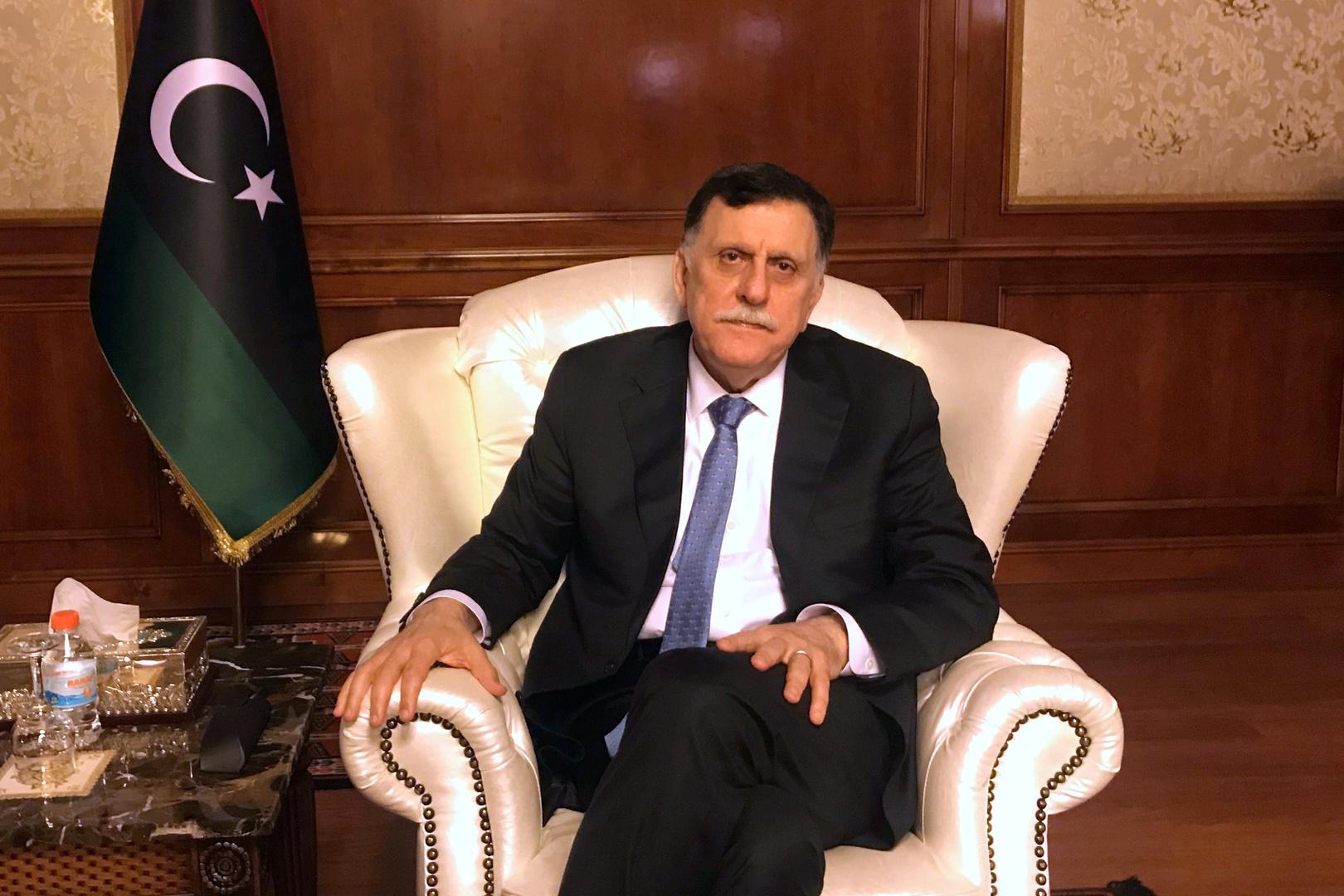 المجلس الأعلى للدولة في ليبيا يدعو السراج لمواصلة أداء مهامه قبل اختيار خلف له