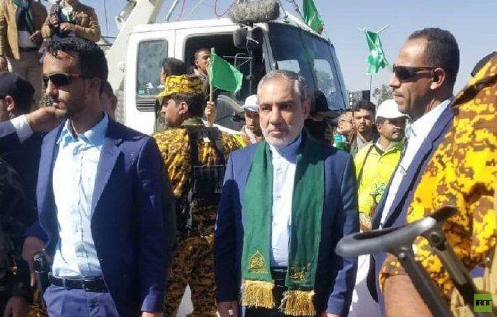 السفير الإيراني في اليمن حسن ایرلو