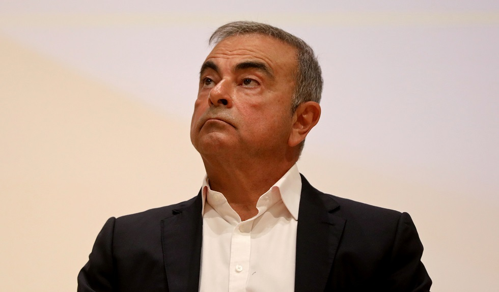 رئيس شركة نيسان السابق كارلوس غصن