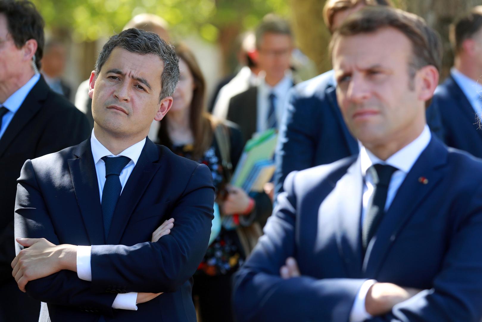 وزير الداخلية الفرنسي: تصريحات أردوغان تجاوزت الحدود