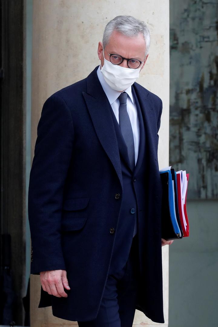 وزير المالية الفرنسي: الاقتصاد الفرنسي سينكمش بـ 11 بالمائة العام الجاري
