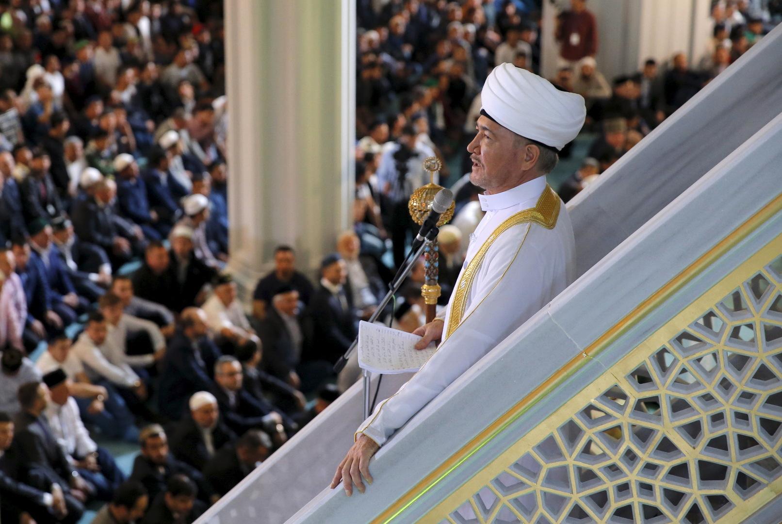 مفتي روسيا: لا يمكن أن تهتز عظمة الإسلام وقداسته بالصور والشتائم والأفلام