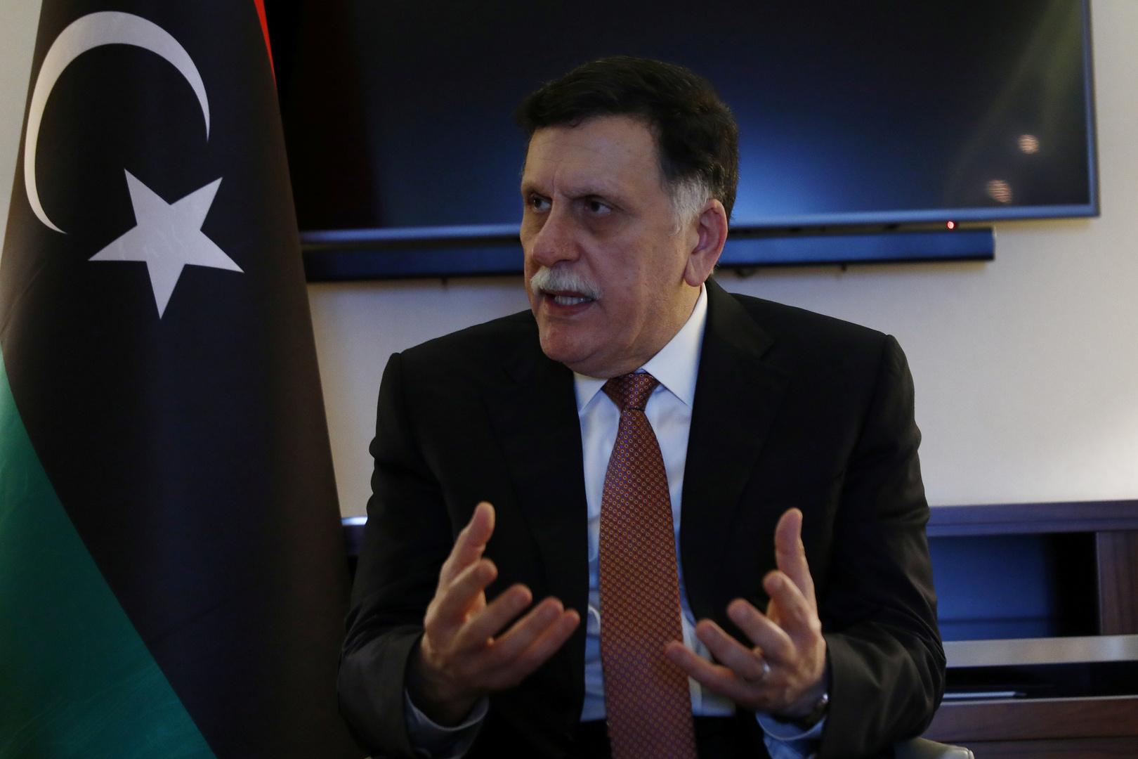 ألمانيا تدعو رئيس حكومة الوفاق الليبية إلى تأجيل استقالته