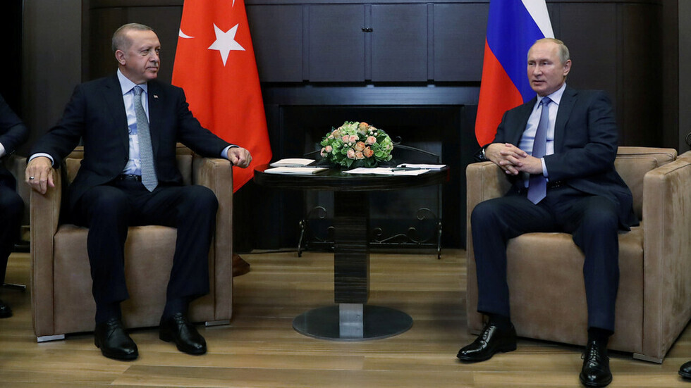 بوتين يعزي أردوغان