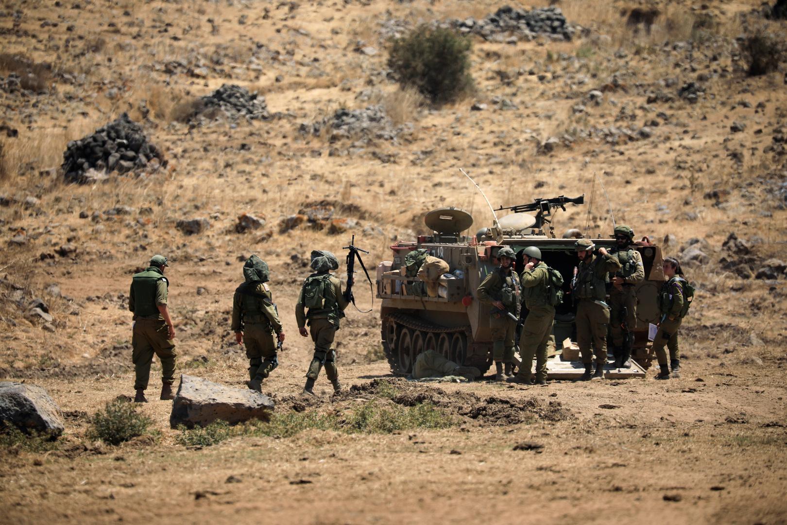 الجيش الإسرائيلي يعلن تنفيذ مداهمات ضد التحصينات السورية في هضبة الجولان