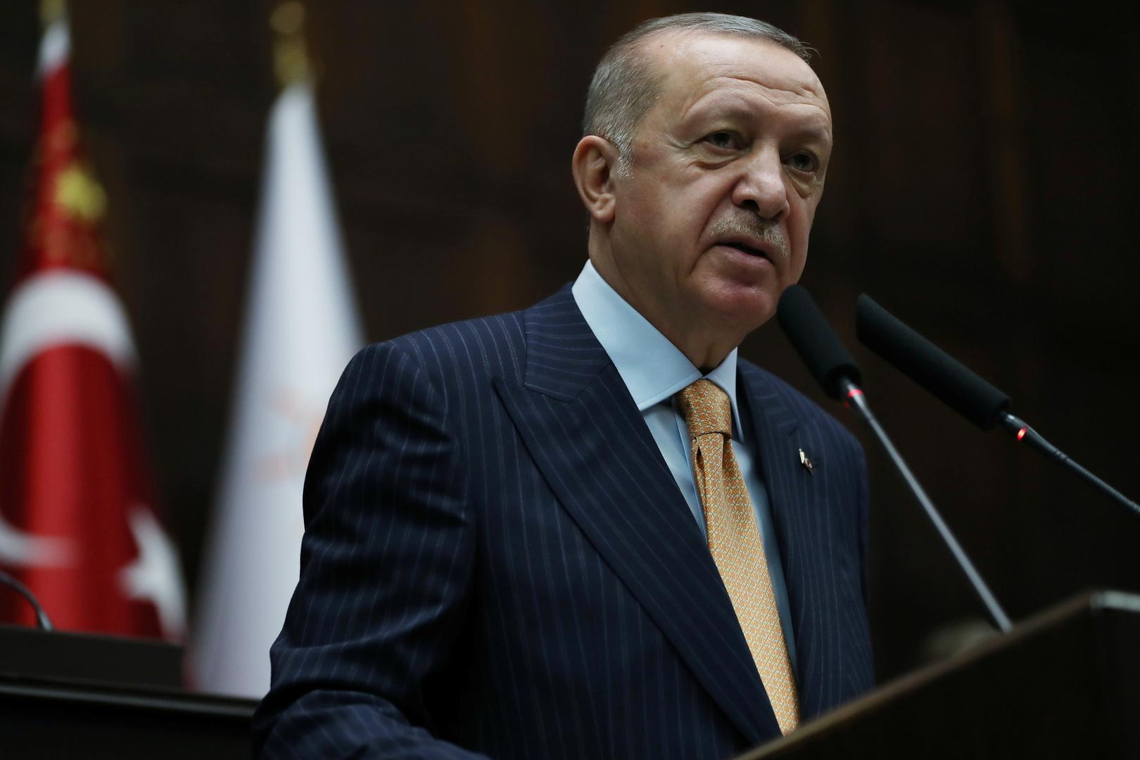 أردوغان: نأمل ببدء استخدام لقاح خاص بنا ضد كورونا في الربيع
