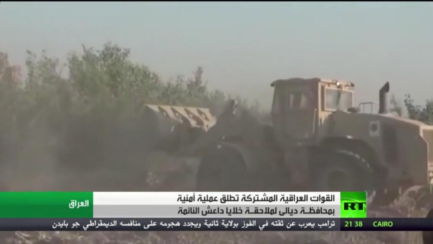 العراق.. عملية أمنية ضد داعش بمحافظة ديالى