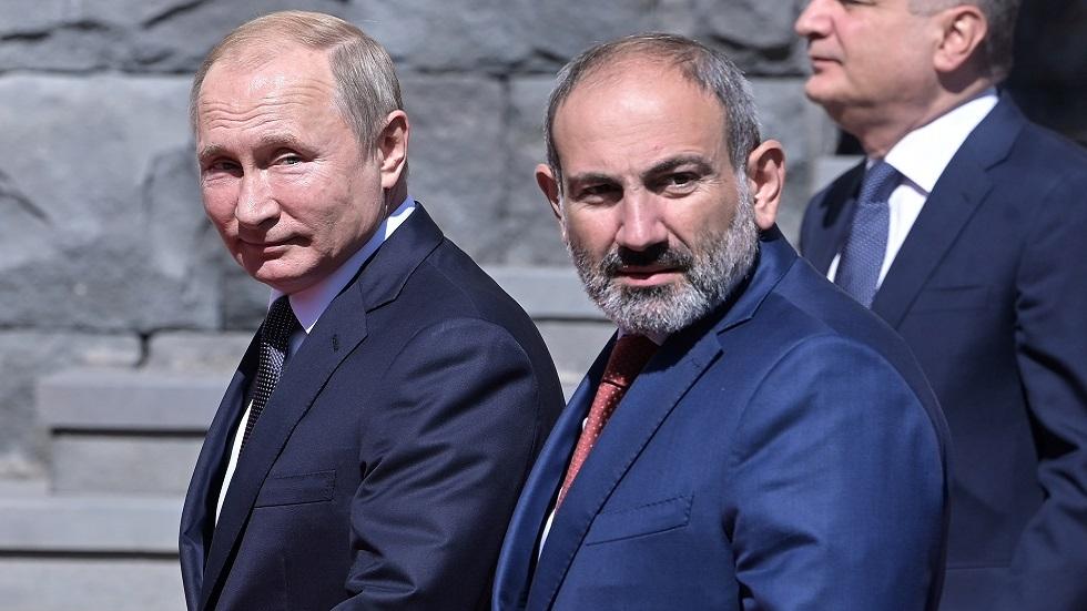 باشينيان يتوجه لبوتين بطلب يتعلق بضمان أمن أرمينيا