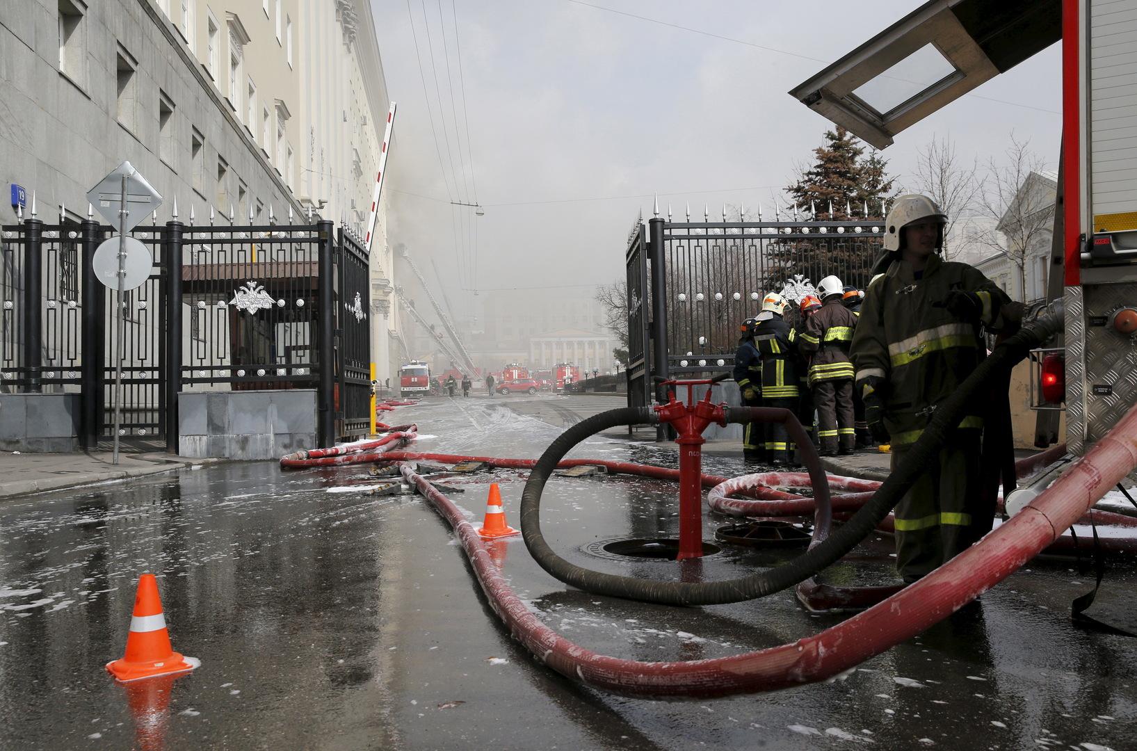 إعلان حالة الطوارئ في مدينة تشيليابينسك الروسية جراء حريق في مستشفى