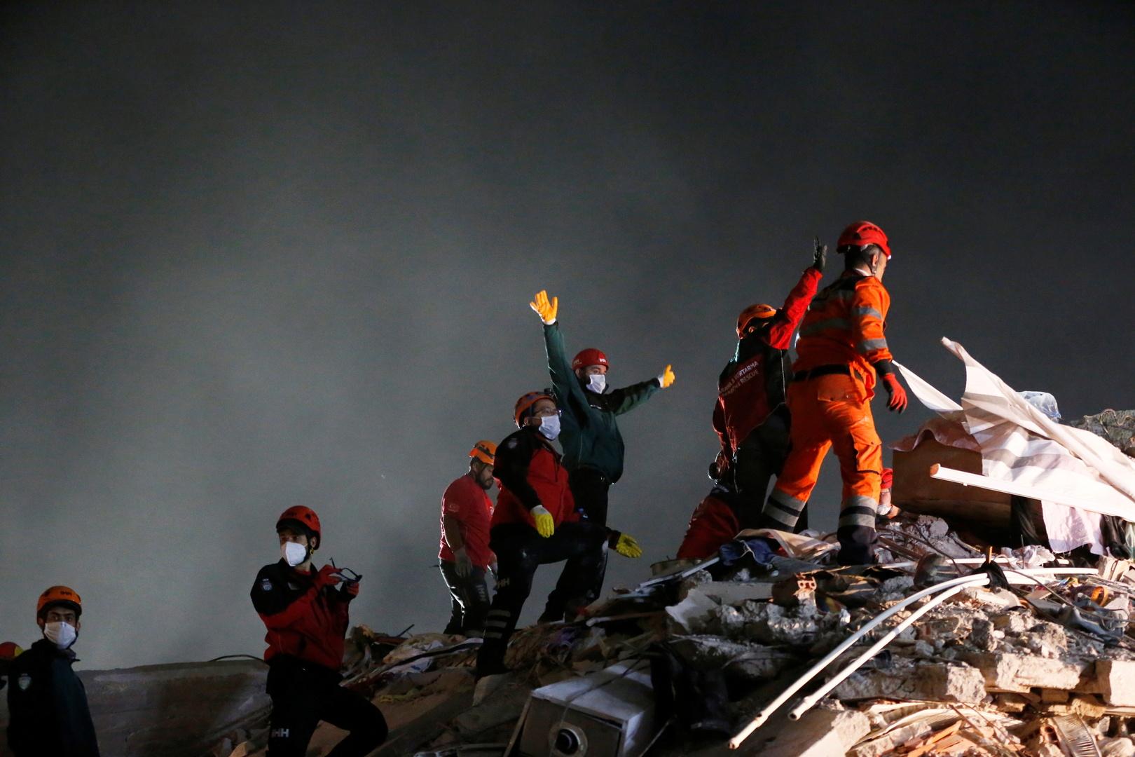 مصر تعرب عن خالص تعازيها في ضحايا الزلزال الذي ضرب منطقة بحر إيجة