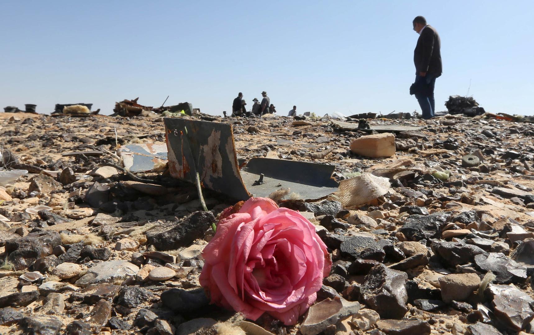 الذكرى الخامسة لمأساة تحطم طائرة الركاب الروسية في سيناء