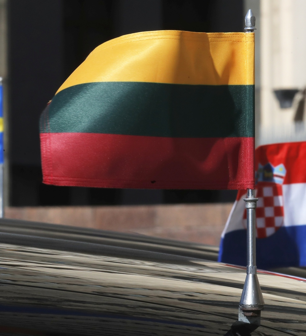 علم جمهورية ليتوانيا.