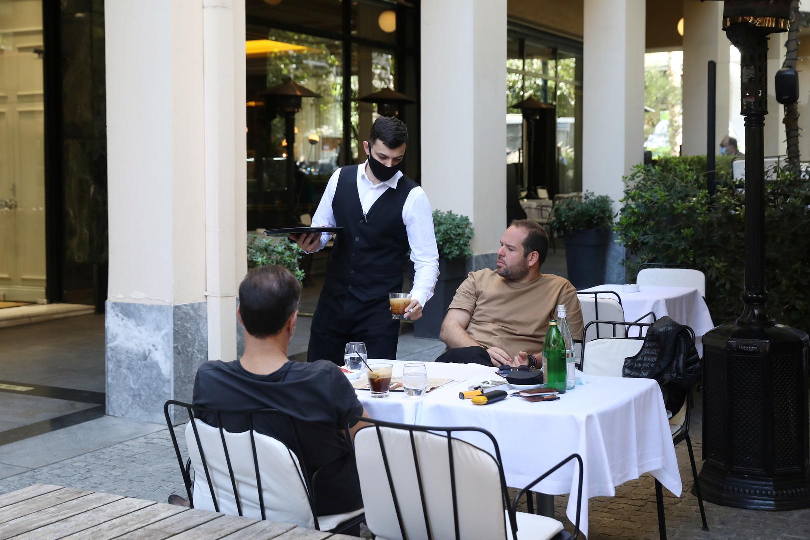 اليونان.. قرار جديد بإغلاق الحانات والمطاعم لمدة شهر