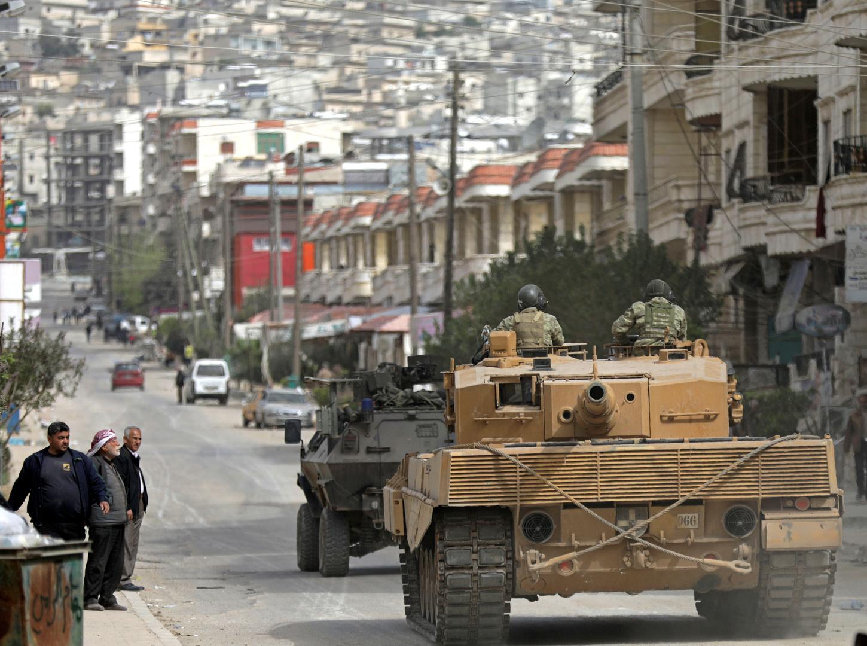 قوات تركية في عفرين - صورة أرشيفية