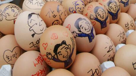 القضاء في كوريا الجنوبية يحكم بسجن سارق بيض فقير لمدة عام