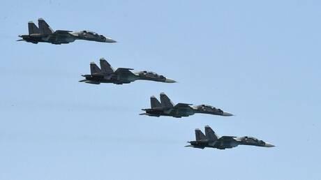 قصف تدريبي للطيران البحري التابع لأسطول البلطيق الروسي في كالينينغراد