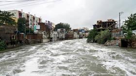 الهند.. مقتل 40 شخصا وتضرر بالمحاصيل جراء الفيضانات