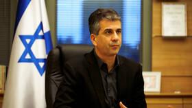 وزير الاستخبارات الإسرائيلي: المنطقة تشهد تشكل تحالف بمواجهة إيران وأردوغان