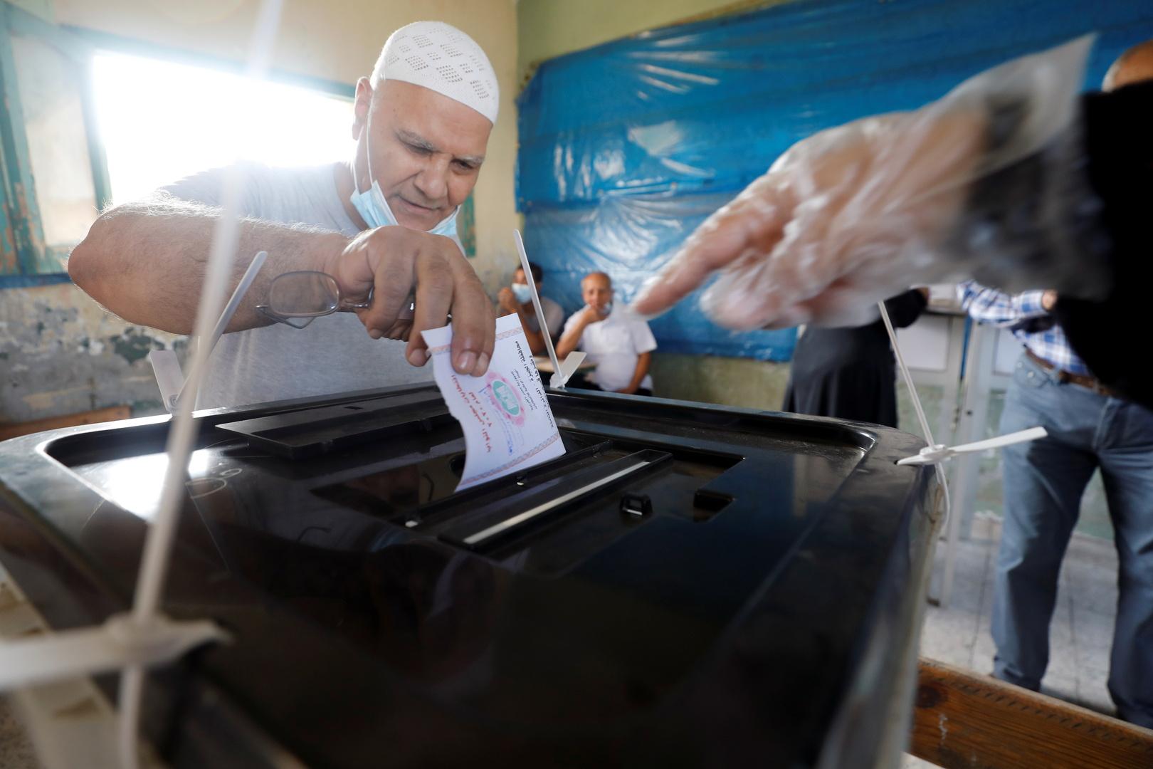 نسبة المشاركة بالجولة الأولى من الانتخابات البرلمانية المصرية لم تتجاوز 29%