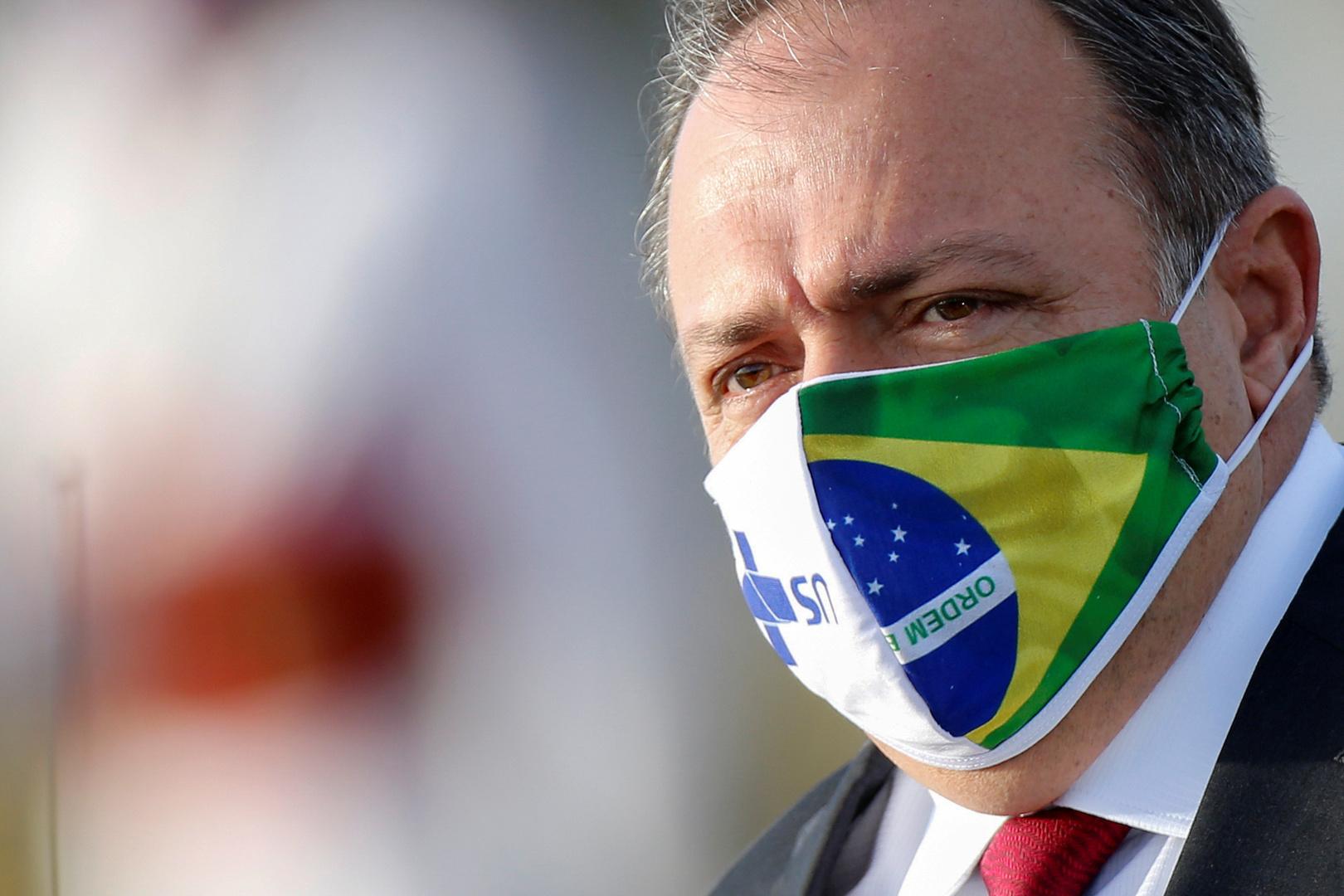 البرازيل.. وزير الصحة المصاب بكورونا يخرج من المستشفى