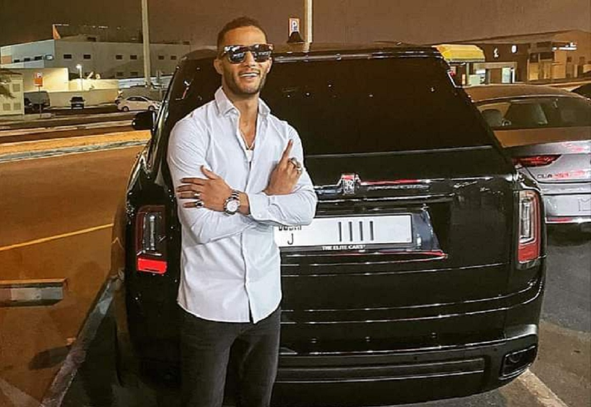 Egypt .. The artist Mohamed Ramadan publishes a picture of his new car in the UAE .. Know its price