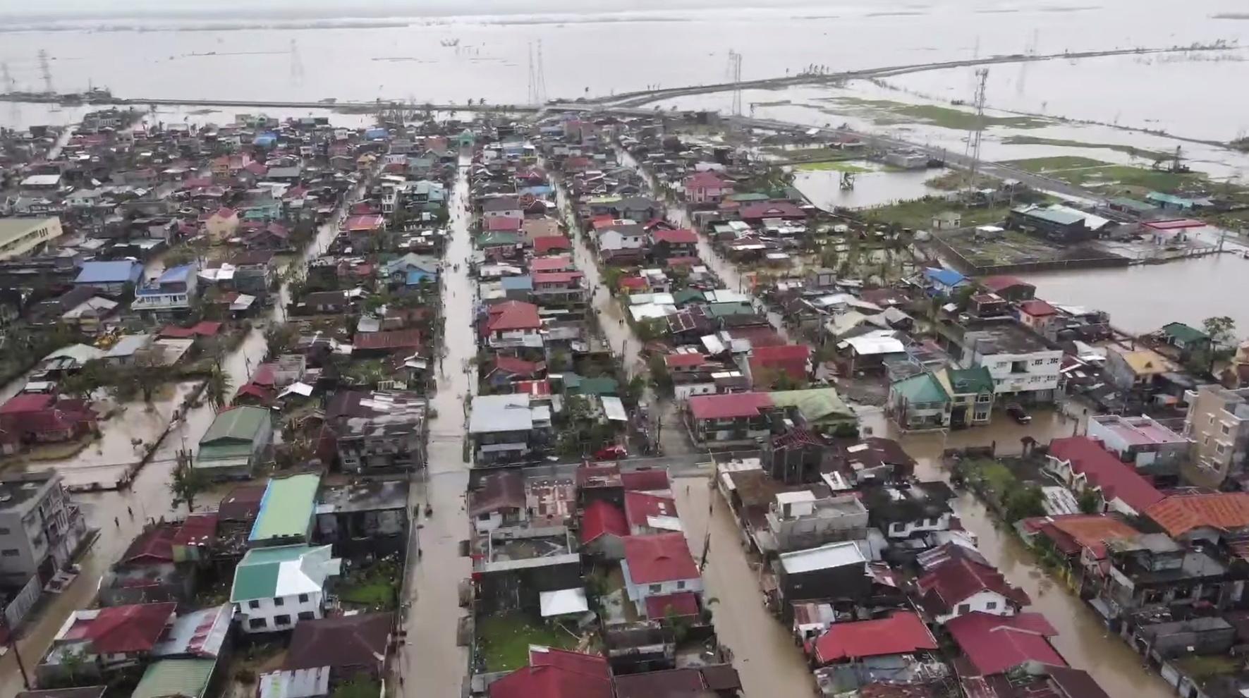 تداعيات الإعصار