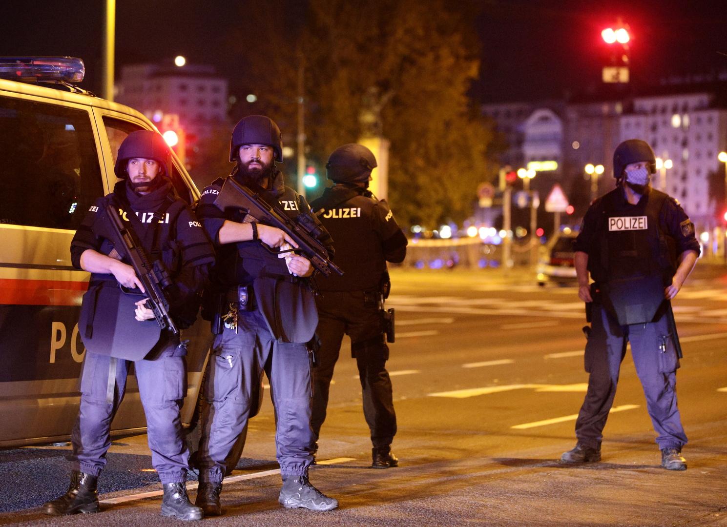 السلطات النمساوية: لا يمكننا تأكيد المعلومات حول احتجاز 4 مشاركين في تنفيذ هجوم فيينا