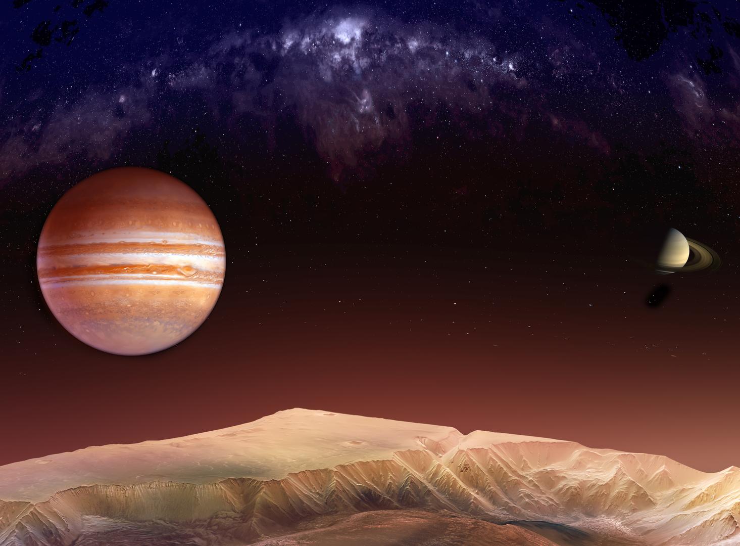 العمالقة الغازية في النظام الشمسي تستعد لحدث