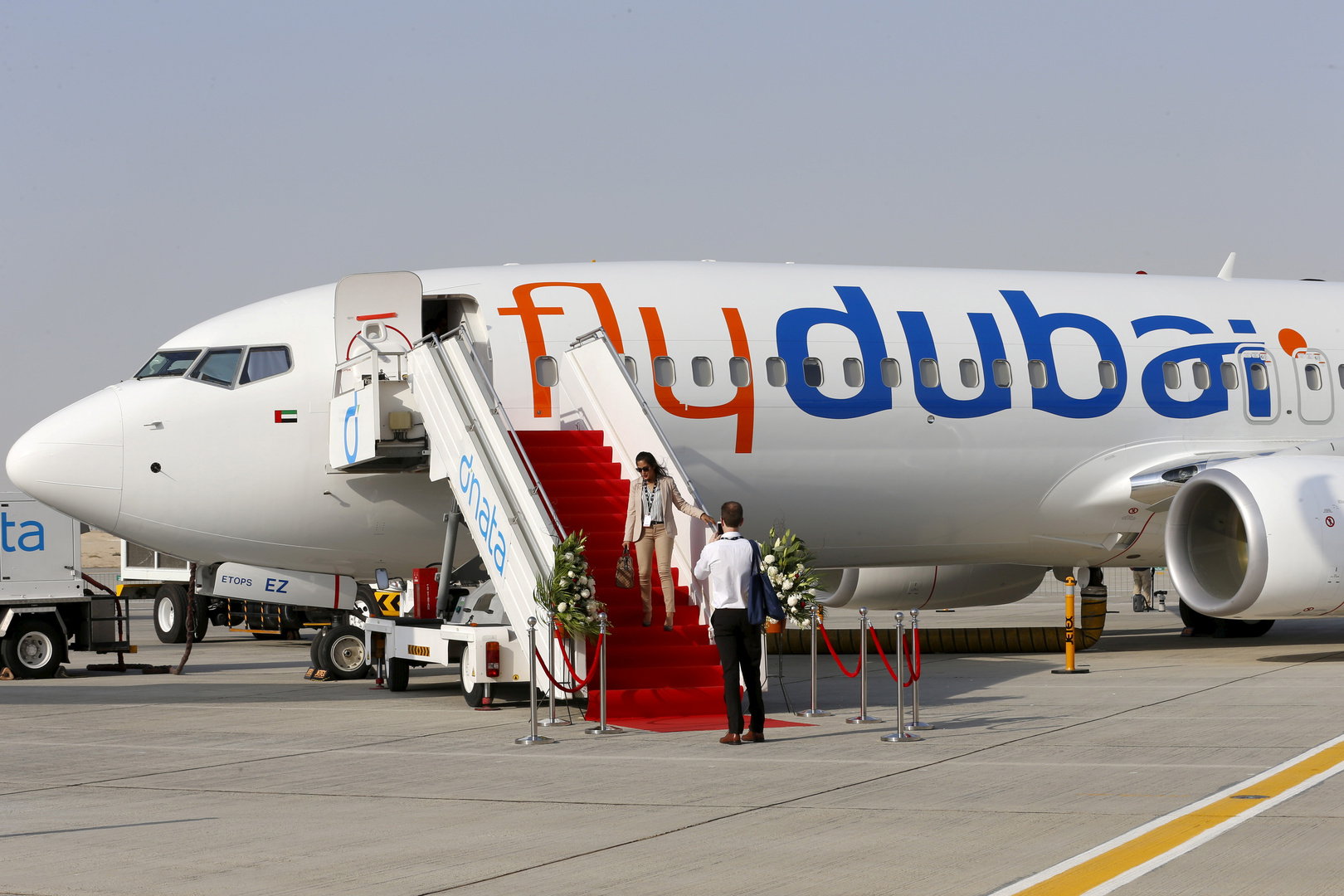 إقلاع أول رحلة تجارية مباشرة من دبي إلى تل أبيب