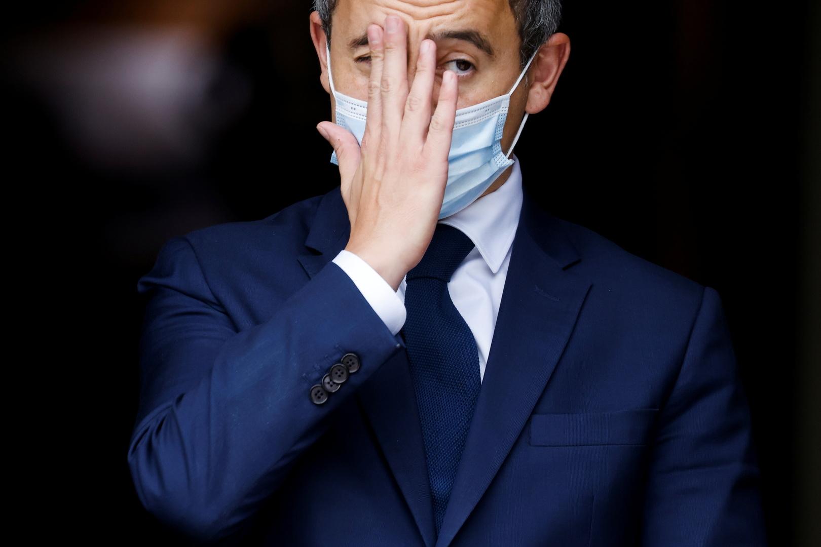 وزير الداخلية الفرنسي جيرار دارمانان