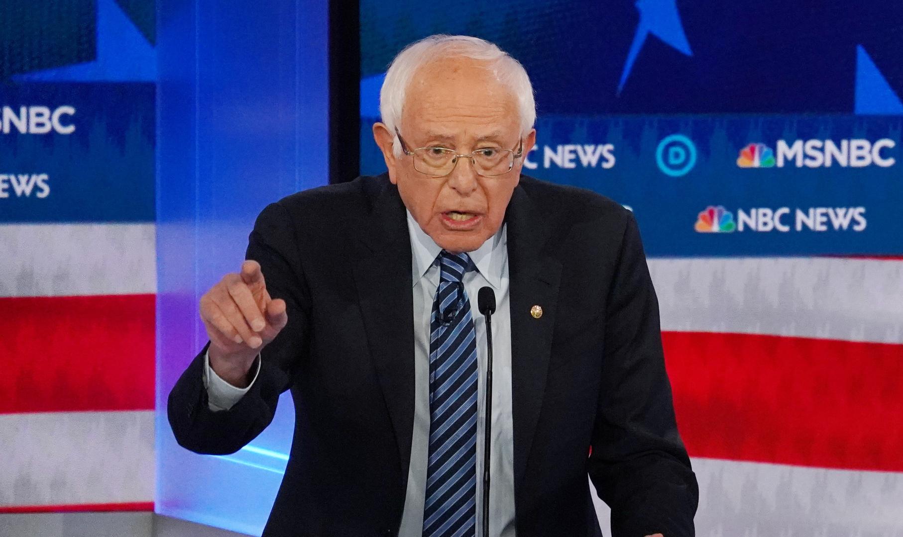 ساندرز تنبأ بدقة متناهية بتطورات الانتخابات الأمريكية قبل أسبوعين منها!